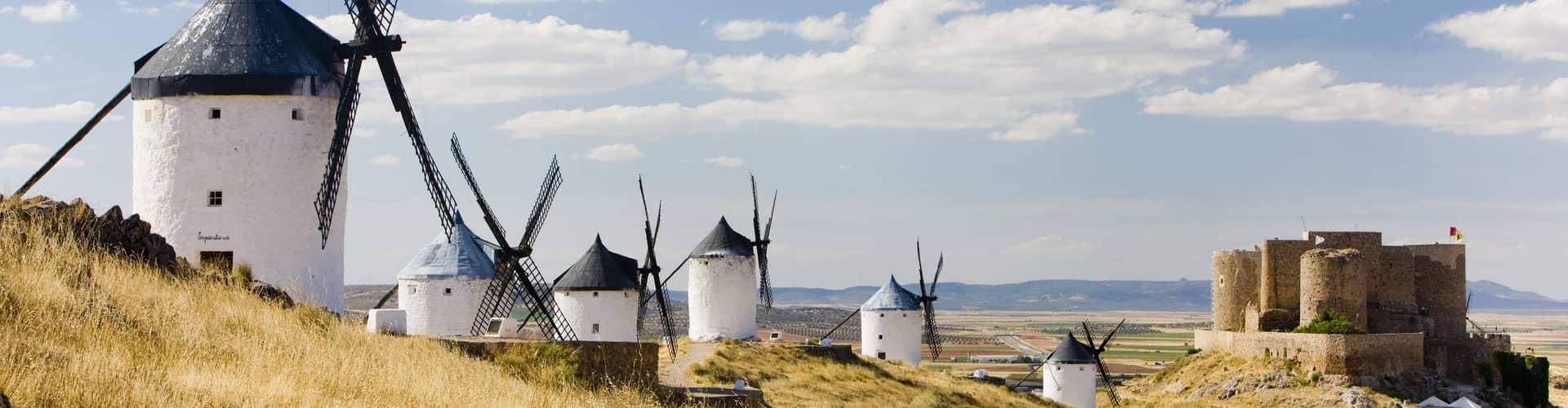 Kamperen in Castilië-La Mancha